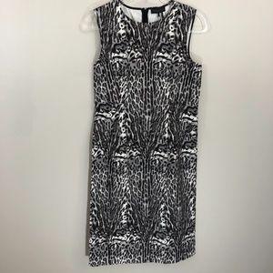 Donna Karan New York Animal Print Dress 8 NWT
